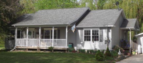 Home as built for customer