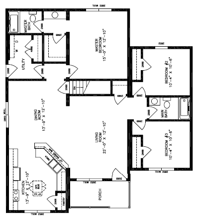 Heritage IV Floor Plan
