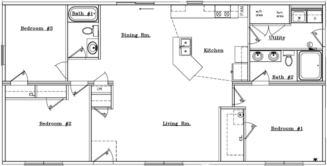 Custom Ranch Floor Plan